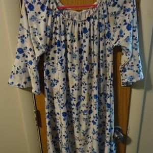 Westloop Large Floral Patterned Dress